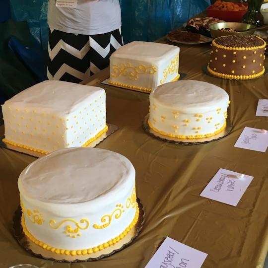Anniversary Picnic - Cakes
