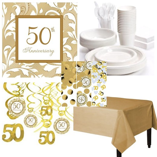 Anniversary Picnic Party Tableware