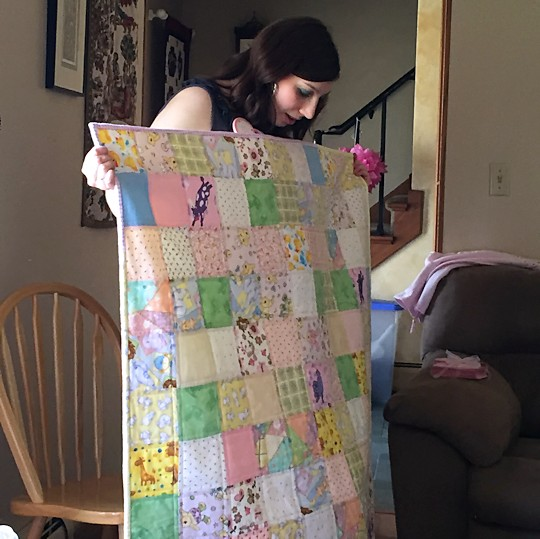 Baby Shower for Princess - Quilt