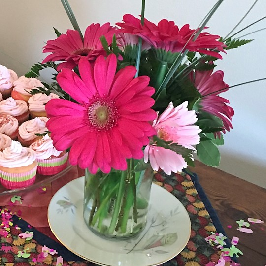 Baby Shower for Princess - Flowers