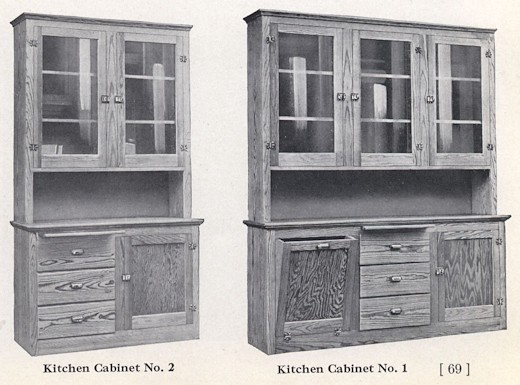Bennett Catalog Woodwork - Kitchen Cupboard