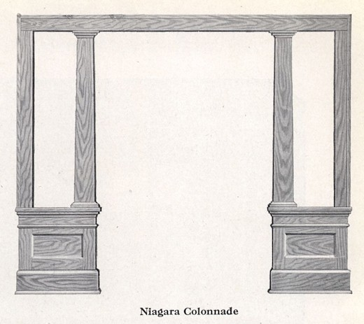 Bennett Catalog Woodwork - Colonnade