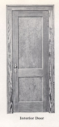 Bennett Catalog Woodwork - Door