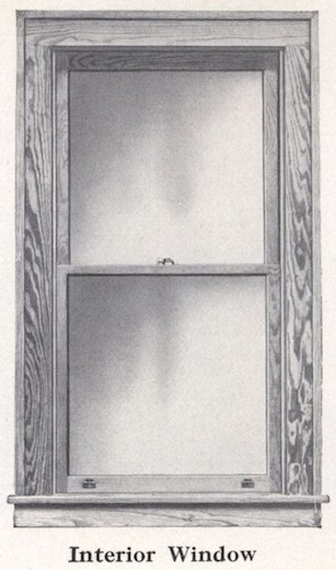 Bennett Catalog Woodwork - Window Trim