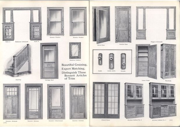 Bennett Catalog Woodwork