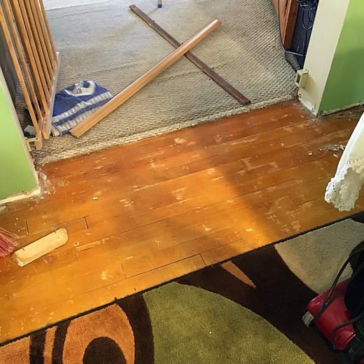 Floor Redo - Day Six & Seven - Thresholds