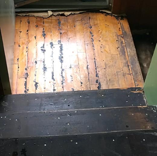 Floor Redo - Day Six & Seven - Stairway