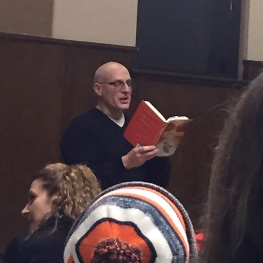 Gordon Korman - Reading From his Book