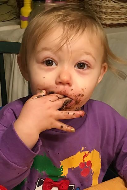 Meet Punkin - Punkin Chocolate Face