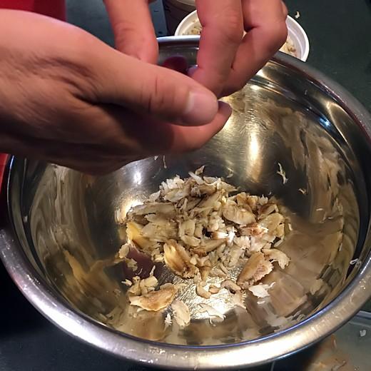 Mrs. Duvall's Crab Cake Recipe - Picking Through Crab