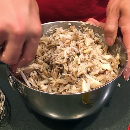 Mrs. Duvall's Crab Cake Recipe - Fold