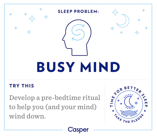 Sleep Problems - Busy Brain