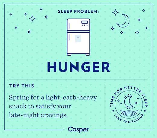 Sleep Problems - Hunger