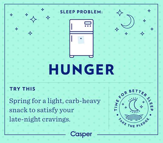 Sleep Problems - Hunger
