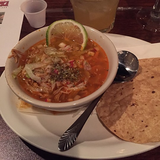 Solea Tequila Dinner February 2015 - Pozole