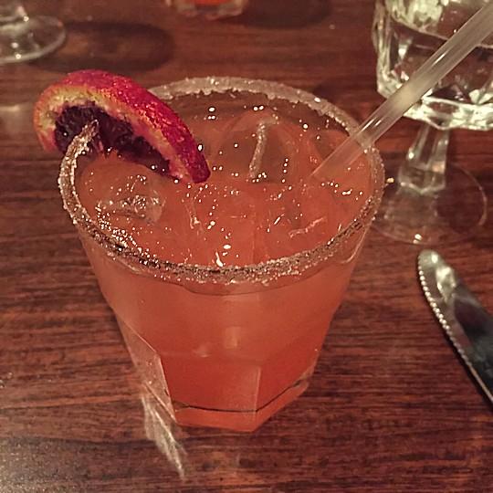 Solea Tequila Dinner February 2015 - Rubi Red Margarita