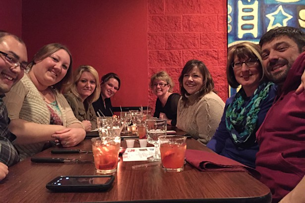 Solea Tequila Dinner February 2015 - Friends