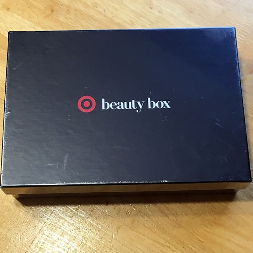 Target Beauty Box August 2016 - Box Top