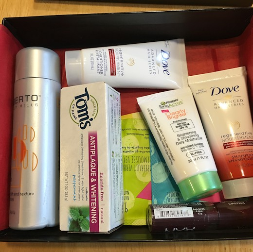 Target Beauty Box July 2016 - All Products