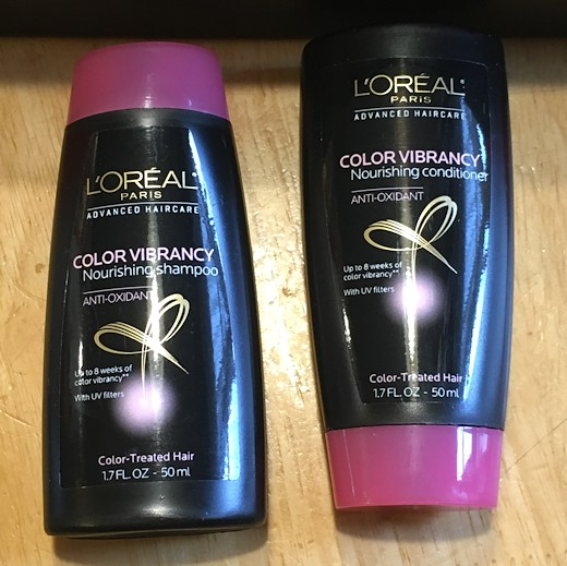 Target Beauty Box July 2016 - L'Oreal Shampoo & Conditioner