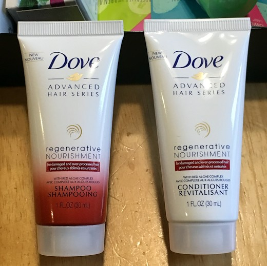 Target Beauty Box July 2016 - Dove Shampoo