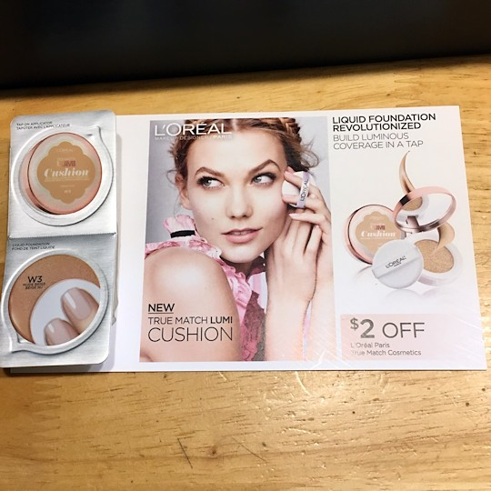 Target Beauty Box June 2016 - Cushion