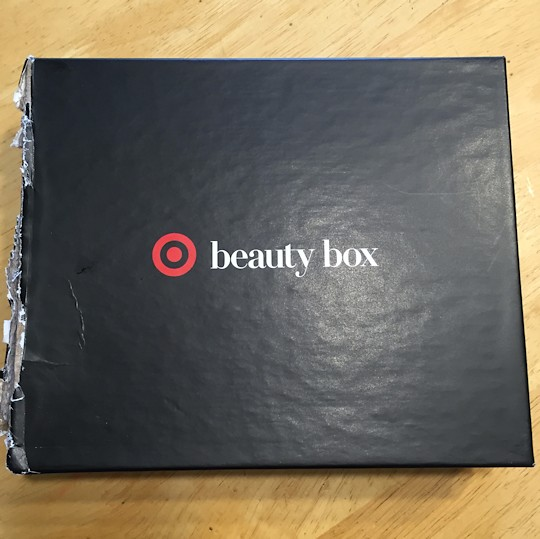 Target Beauty Box March 2016 - Box
