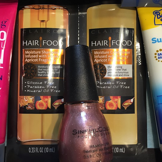 Target Beauty Box March 2016 - Shampoo & Conditioner