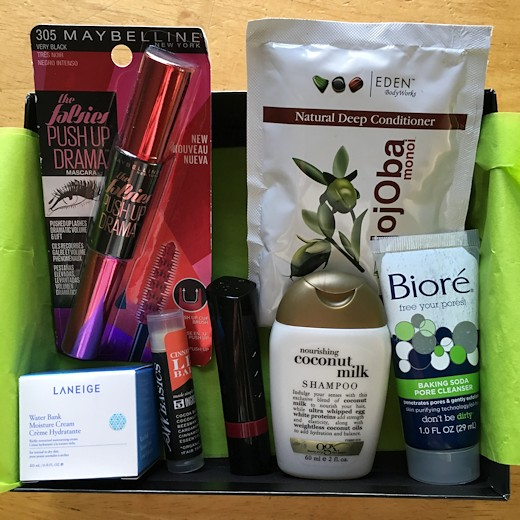 Target Beauty Box September 2016 - All Products