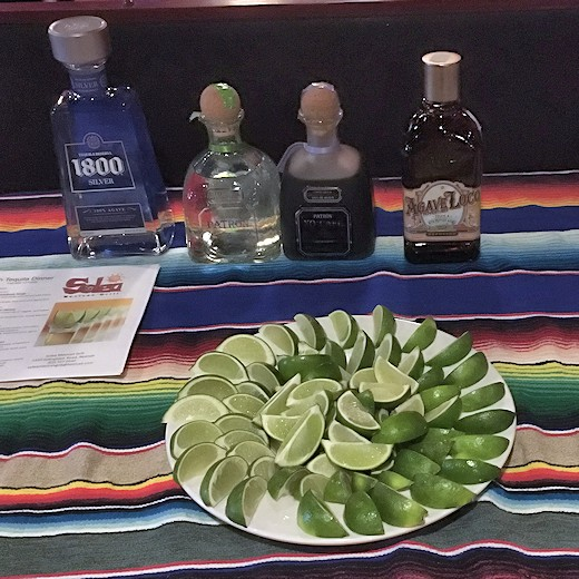 Solea Tequila Dinner March 2017 - Table