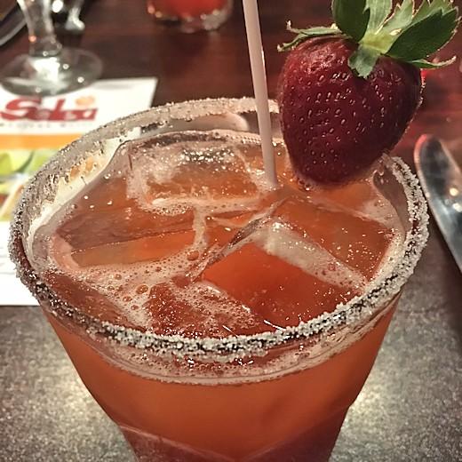 Solea Tequila Dinner March 2017 - Strawberry Margarita