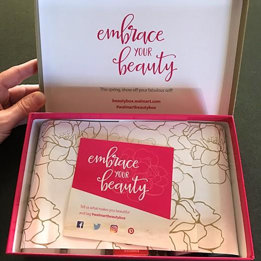 Walmart Beauty Box Spring 2017 - Inside the Box