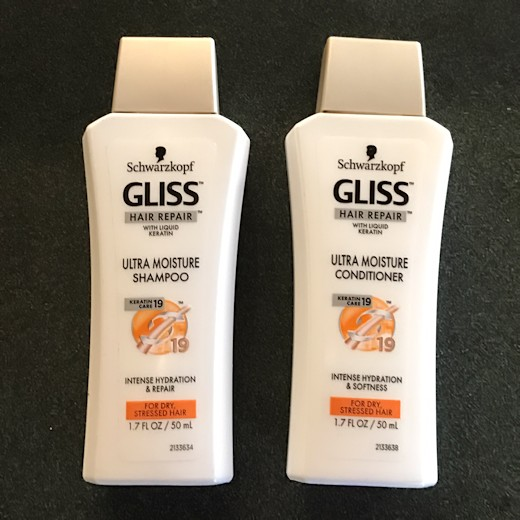 Walmart Beauty Box Spring 2017 - Gliss Shampoo & Conditioner