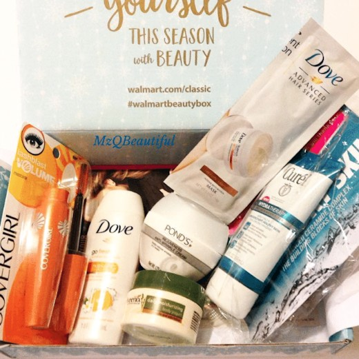Walmart Beauty Box Winter 2016 - Classic